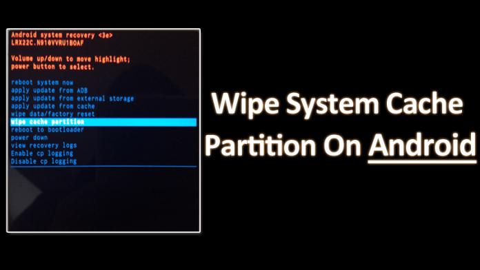 Cómo borrar la partición de la caché del sistema en los dispositivos Android