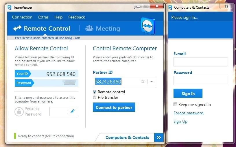 Cómo acceder remotamente a otro ordenador desde su ordenador