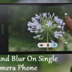 Cómo fotografiar el desenfoque del fondo en un teléfono con una sola cámara Android
