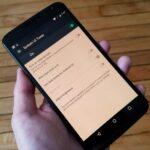 """Habilitar el ajuste de """"Modo Nocturno"""" oculto en el turrón de Android 7.0"""