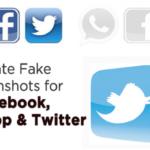 Cómo crear capturas de pantalla falsas para Facebook, Whatsapp, Twitter, etc.