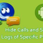 Cómo ocultar las llamadas y los registros de SMS de personas específicas en Android
