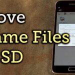 Cómo instalar aplicaciones y mover archivos OBB a una tarjeta SD externa
