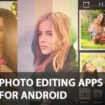 30 mejores aplicaciones de edición de fotos para tu smartphone Android