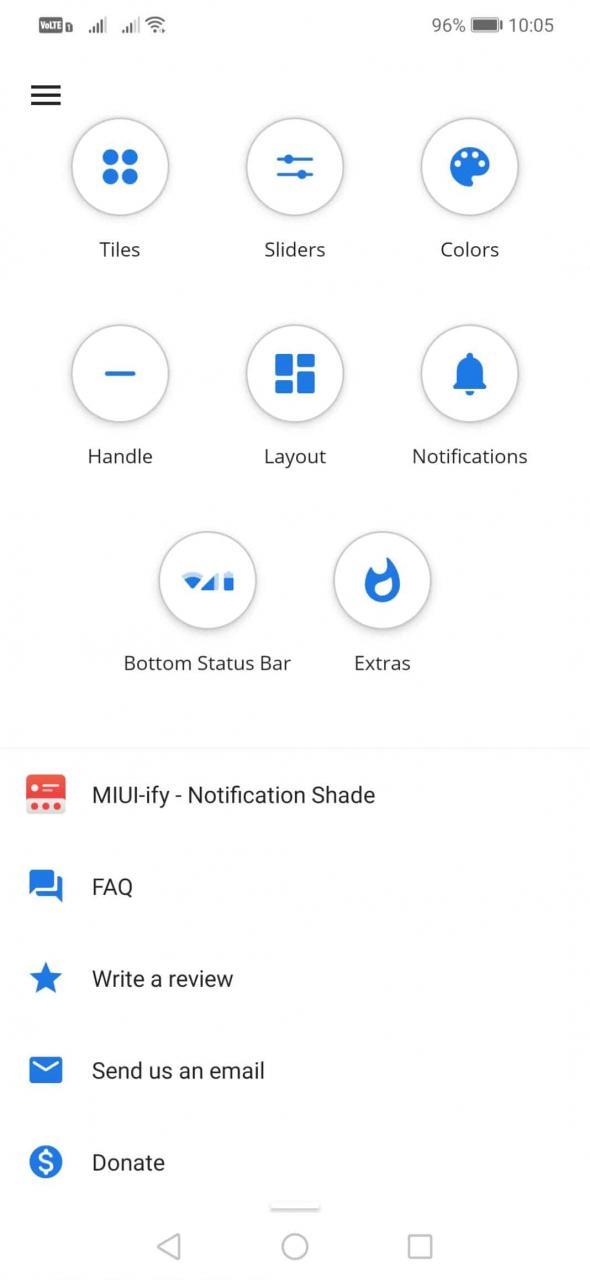 Cómo mover la configuración rápida de Android a la parte inferior