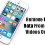 Cómo eliminar los datos de localización de fotos y vídeos en el iPhone