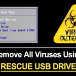 Cómo eliminar todos los virus de la PC utilizando Rescue USB Drive
