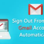 Cómo salir automáticamente de tu cuenta de Gmail (4 métodos)