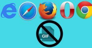 Cómo detener la reproducción automática de GIFs en su navegador