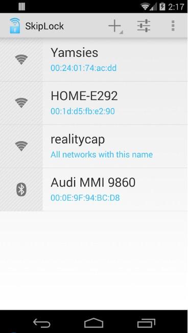 Cómo desbloquear dispositivos Android con WiFi en casa