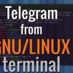 Cómo usar el telegrama de la línea de comandos de Linux