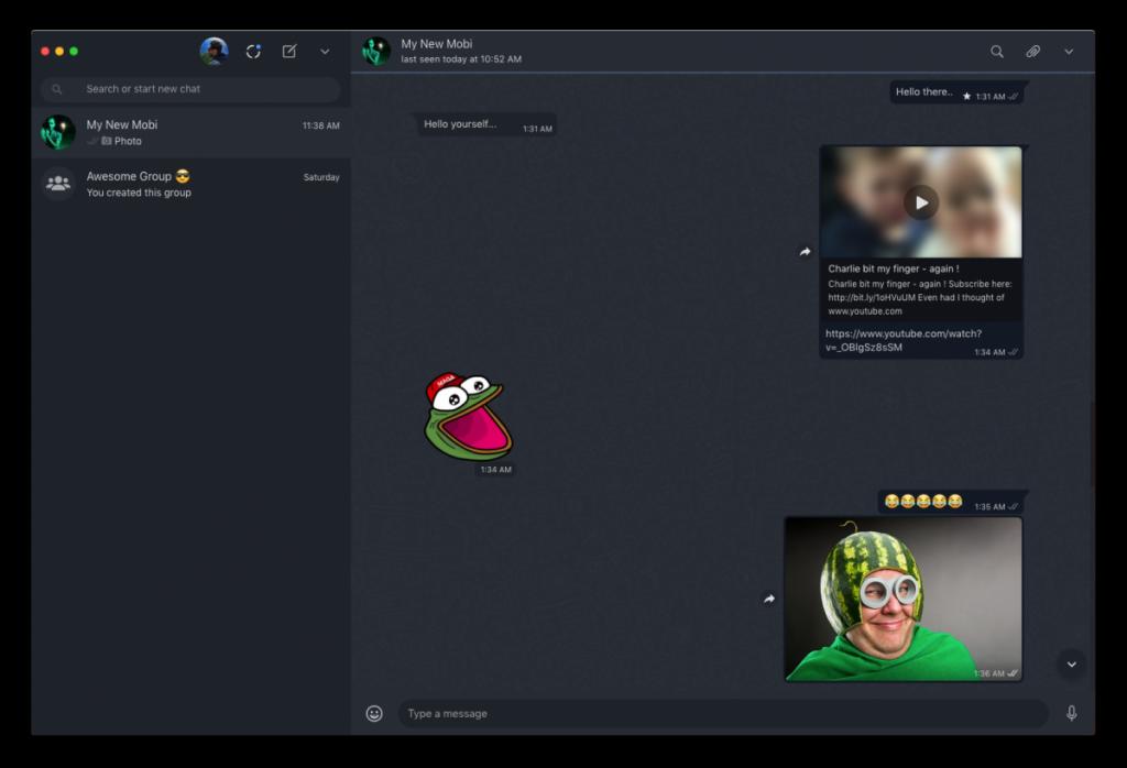 Cómo obtener el modo oscuro en WhatsApp Desktop