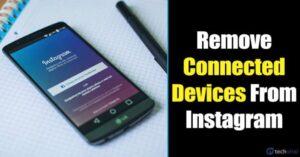 Cómo eliminar los dispositivos conectados de la cuenta de Instagram
