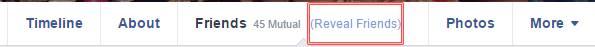 Cómo ver a los amigos ocultos de alguien en Facebook