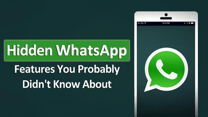5 características ocultas de WhatsApp que probablemente no conocías