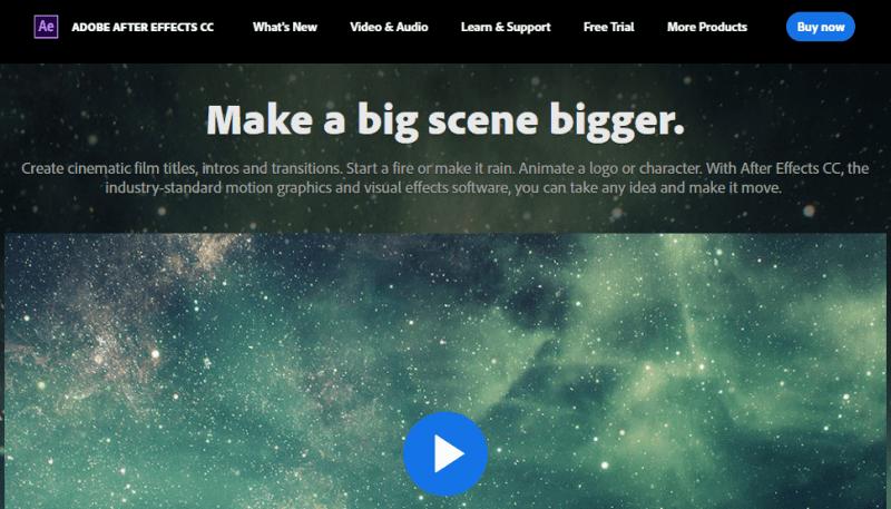 20 mejores programas de edición de video para YouTube