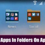 Cómo organizar las aplicaciones en carpetas en el cajón de aplicaciones de Android
