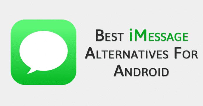 Las 5 mejores alternativas de iMessage para Android 2020