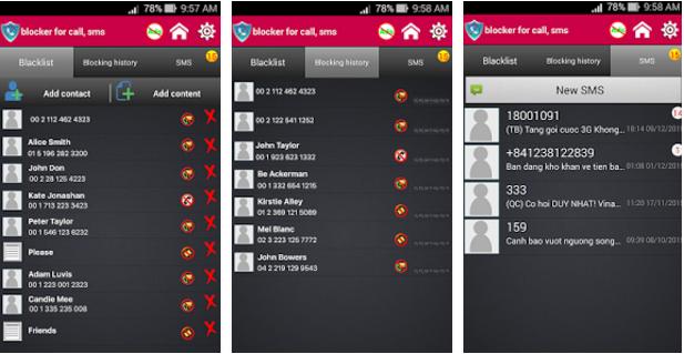 Cómo bloquear las llamadas y los SMS no deseados en tu Android