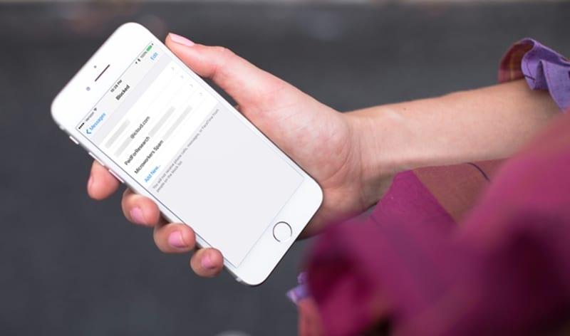 Cómo bloquear el spam de SMS no deseado en iOS 11