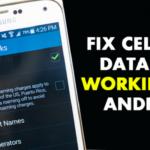 Cómo arreglar los datos celulares que no funcionan en el Android