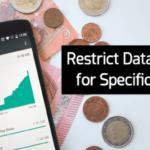 Cómo restringir el uso de datos para aplicaciones específicas en Android