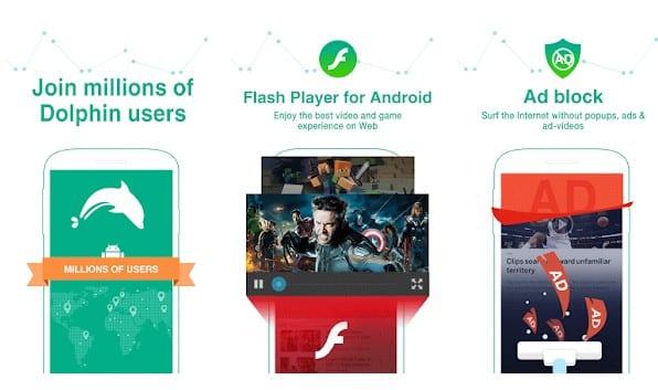 15 Mejores Navegadores Adblock para Android (Último)