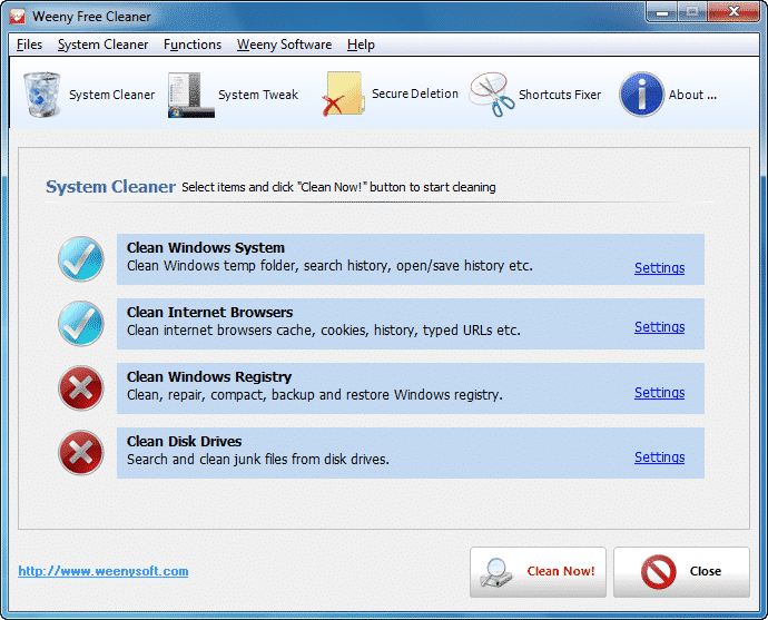 Las 15 mejores alternativas de CCleaner para Windows 10