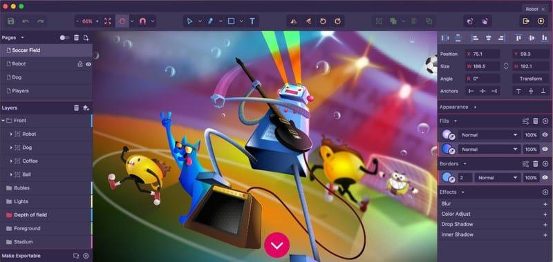 Los 15 mejores editores gráficos gratuitos para la creación de imágenes vectoriales