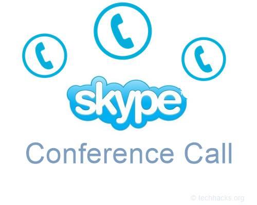 Cómo hacer una llamada en conferencia en Skype