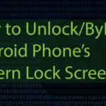 Cómo desbloquear el patrón de los Androids sin perder ningún dato