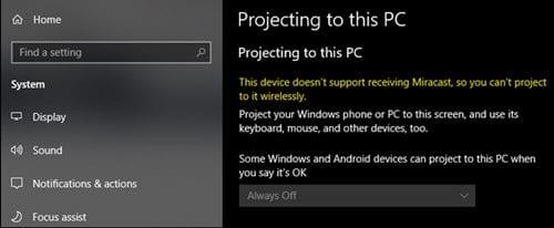 Cómo usar un ordenador portátil con Windows como monitor inalámbrico (para otro PC)