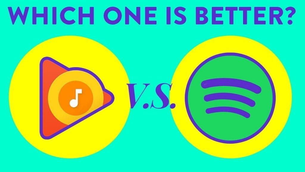 Spotify vs Google Play Music: ¿Cuál es la mejor?