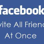 Invitar a todos los amigos a que les guste la página de Facebook de una vez 2019