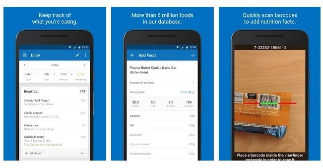 Las 15 mejores aplicaciones de dieta para Android en 2020