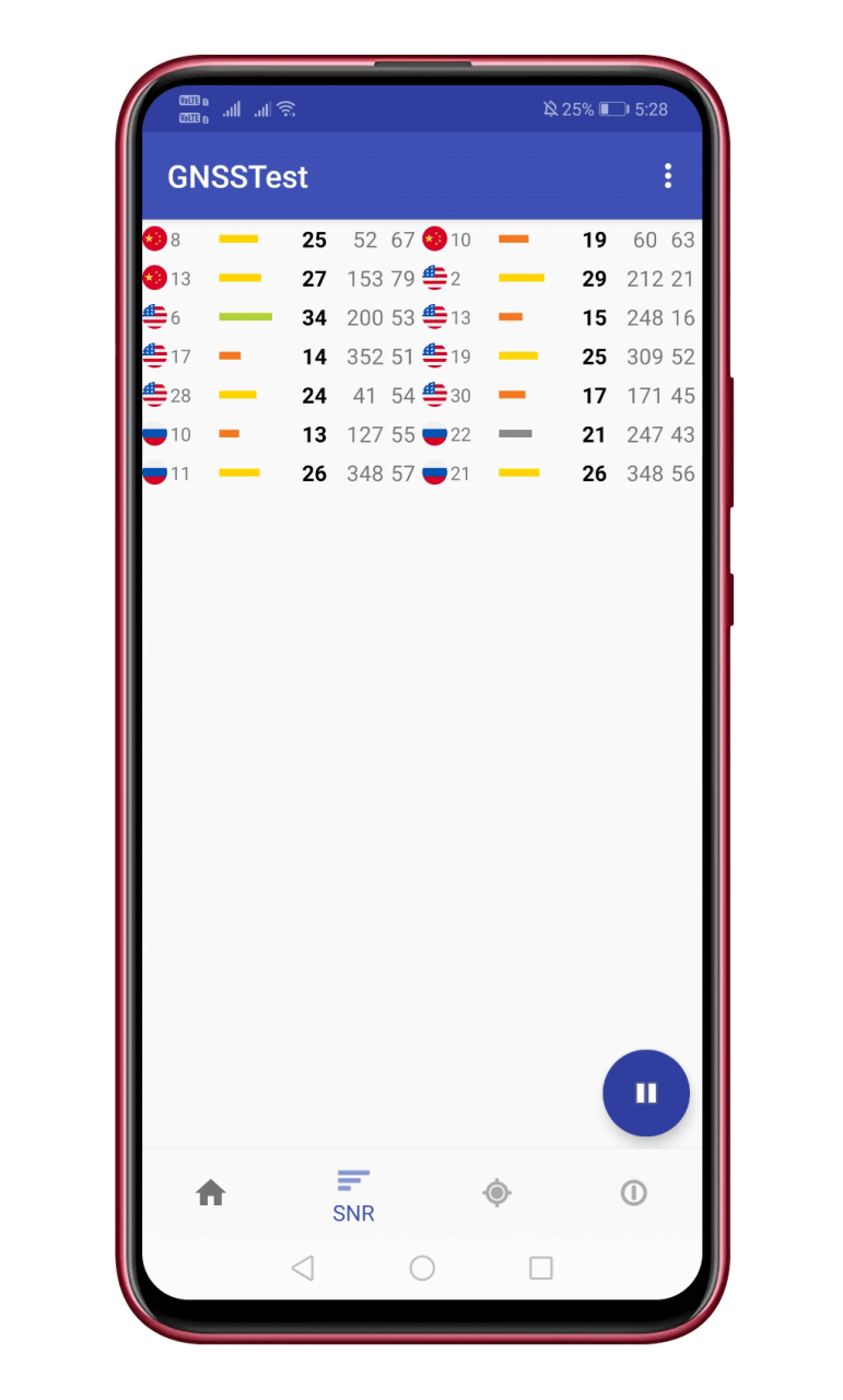 Cómo comprobar si su dispositivo Android tiene soporte NavIC