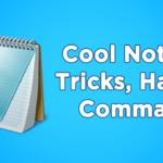 Los 25 mejores trucos, hachazos y comandos del cuaderno de notas en 2020