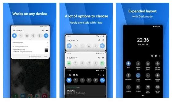 Cómo obtener la sombra de la notificación de la UI de Samsung en cualquier Android