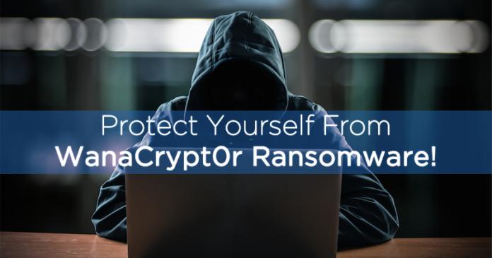 Cómo protegerse de WanaCrypt0r Ransomware!