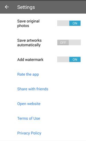 Cómo quitar la marca de agua del logo de Prisma de las fotos