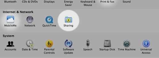 Cómo compartir archivos entre Mac y PC con Windows