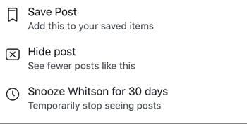 Cómo dormir a alguien durante 30 días en Facebook