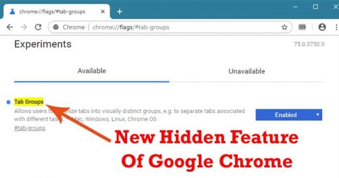 """Cómo habilitar la función """"Grupos de pestañas"""" en el navegador Google Chrome"""