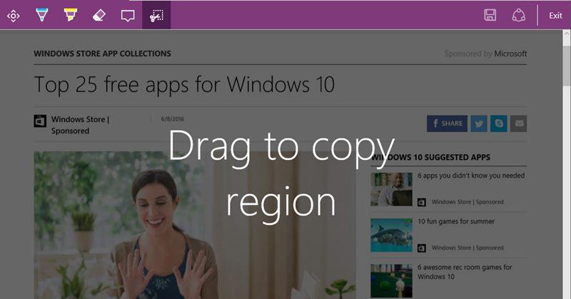 Cómo hacer capturas de pantalla completas de páginas web en Microsoft Edge