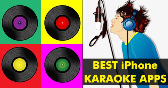 Las 10 mejores aplicaciones de karaoke para el iPhone (gratis o de pago)