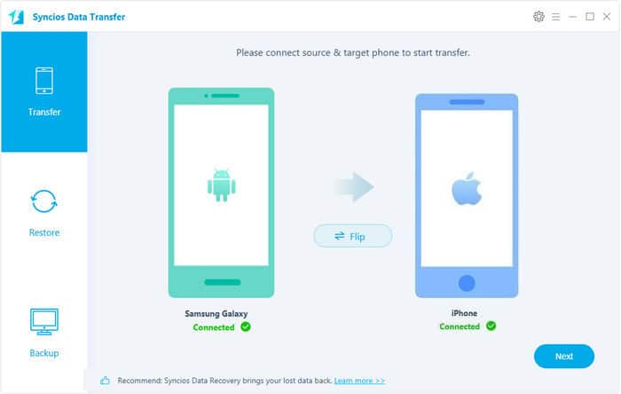 Cómo transferir contactos de Android a iPhone