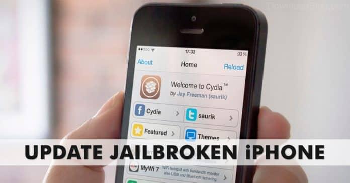 Cómo actualizar el iPhone o iPad de Jailbroken a la última versión de iOS