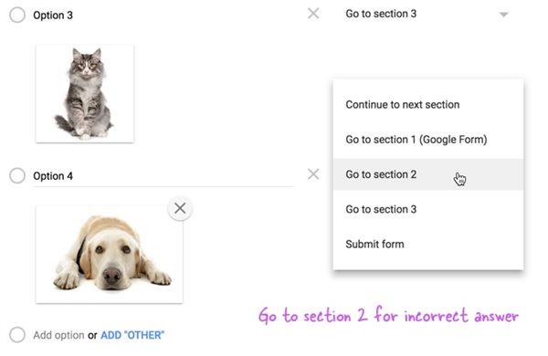 Cómo añadir una contraseña de imagen a tus formularios de Google
