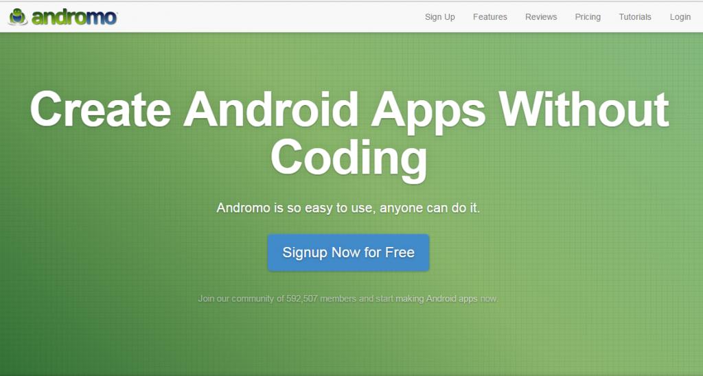 Cómo crear aplicaciones para Android sin necesidad de codificación