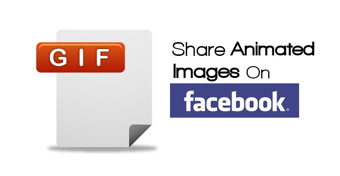 Cómo compartir imágenes animadas GIF en Facebook